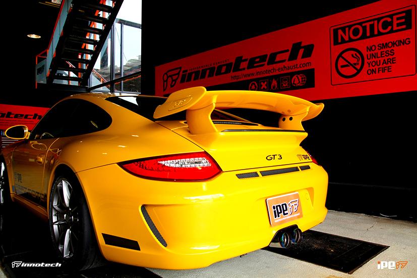 iPE Porsche 997 GT3 Exhaust Full System