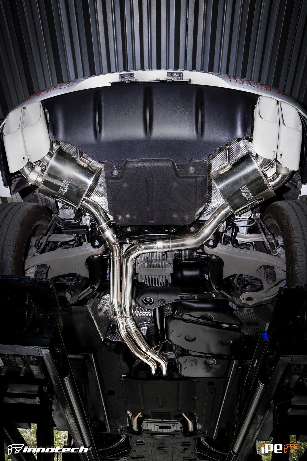 Porsche Macan Turbo IPE Exhaust