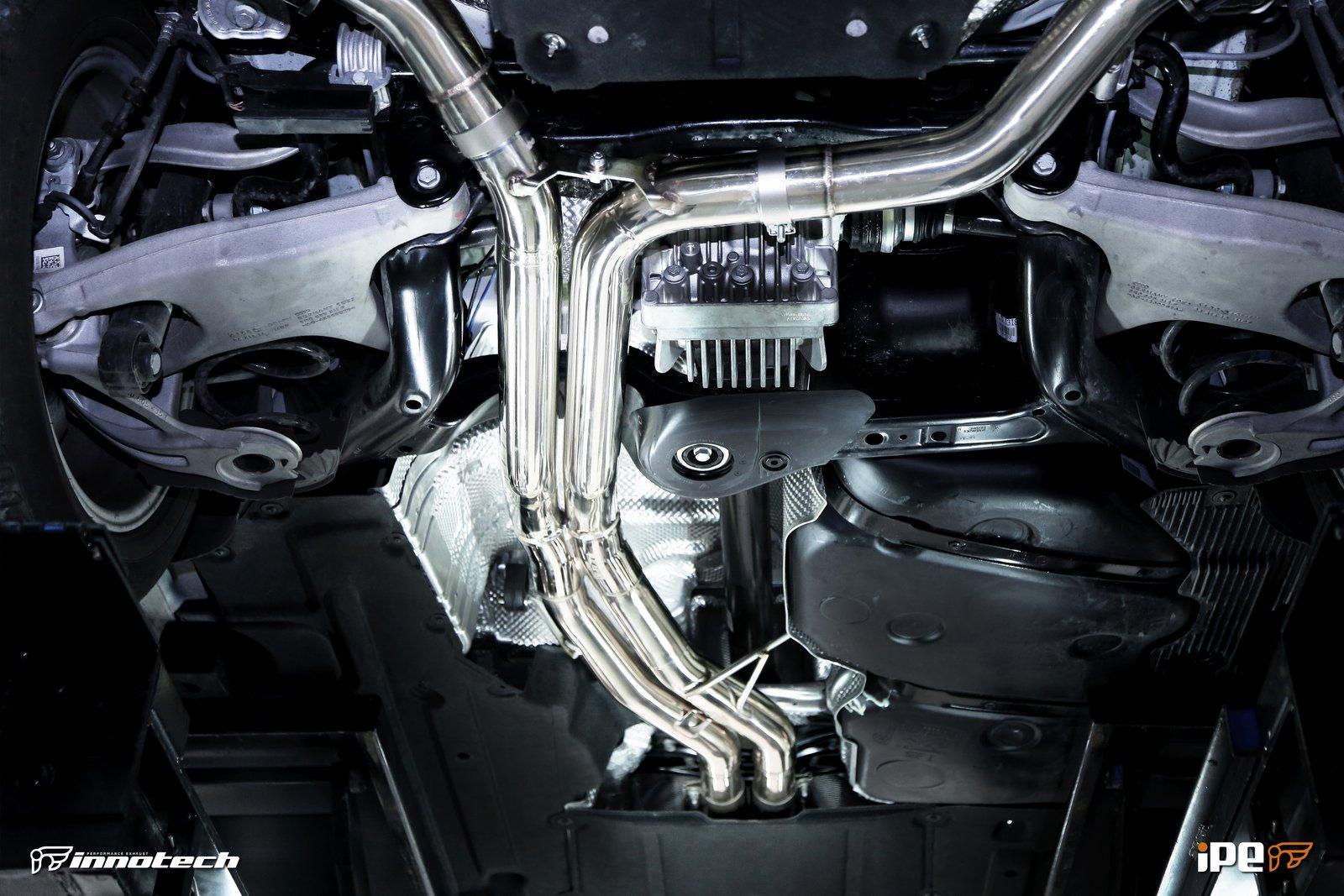 Porsche Macan Turbo IPE Exhaust uk