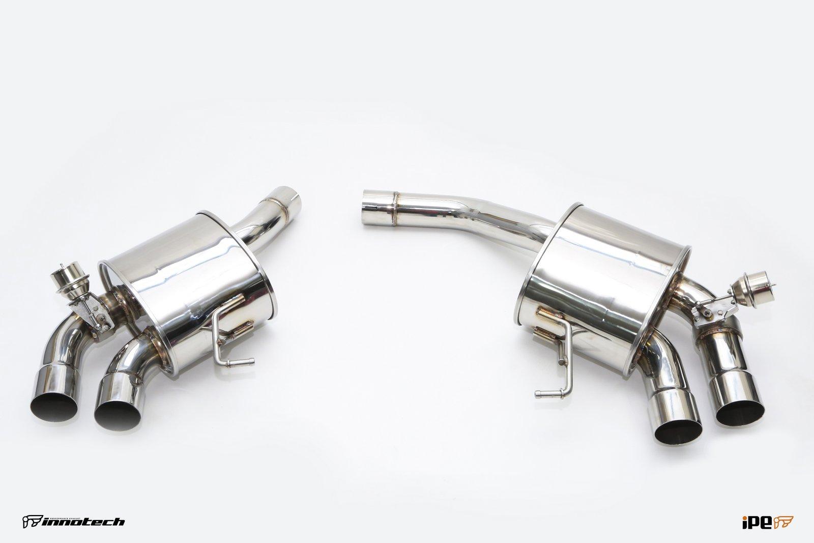 Porsche Macan Turbo IPE Exhaust discount