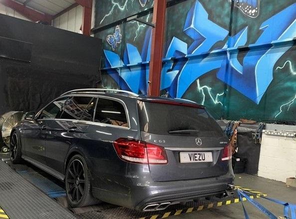 Mercedes amg engine tuning