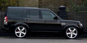 Land Rover Air Suspension Lowering